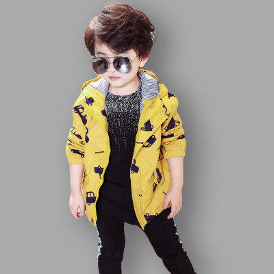 Coat  New Cartoon Car Design Long Sleeve Hooded JacketBoys Outerwear<br>Coat  New Cartoon Car Design Long Sleeve Hooded Jacket<br><br>Closure Type: Zipper<br>Clothes Type: Jackets<br>Collar: Hooded<br>Material: Cotton, Cotton Blends<br>Package Contents: 1x Coat<br>Pattern Type: Character<br>Season: Spring<br>Shirt Length: Regular<br>Sleeve Length: Long Sleeves<br>Sleeve Style: Regular<br>Style: Casual<br>Suitable Age: 8 years old up,6 years old up,1-6 years old<br>Weight: 0.2000kg