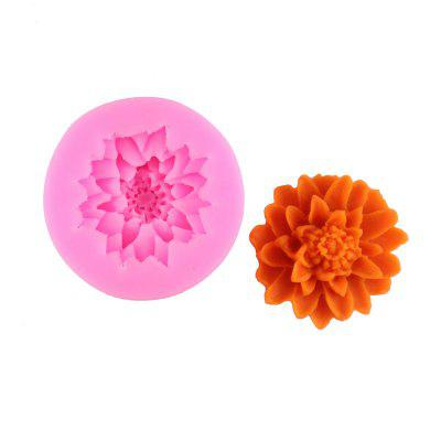 Chrysanthemum Silicone Chocolate Mold