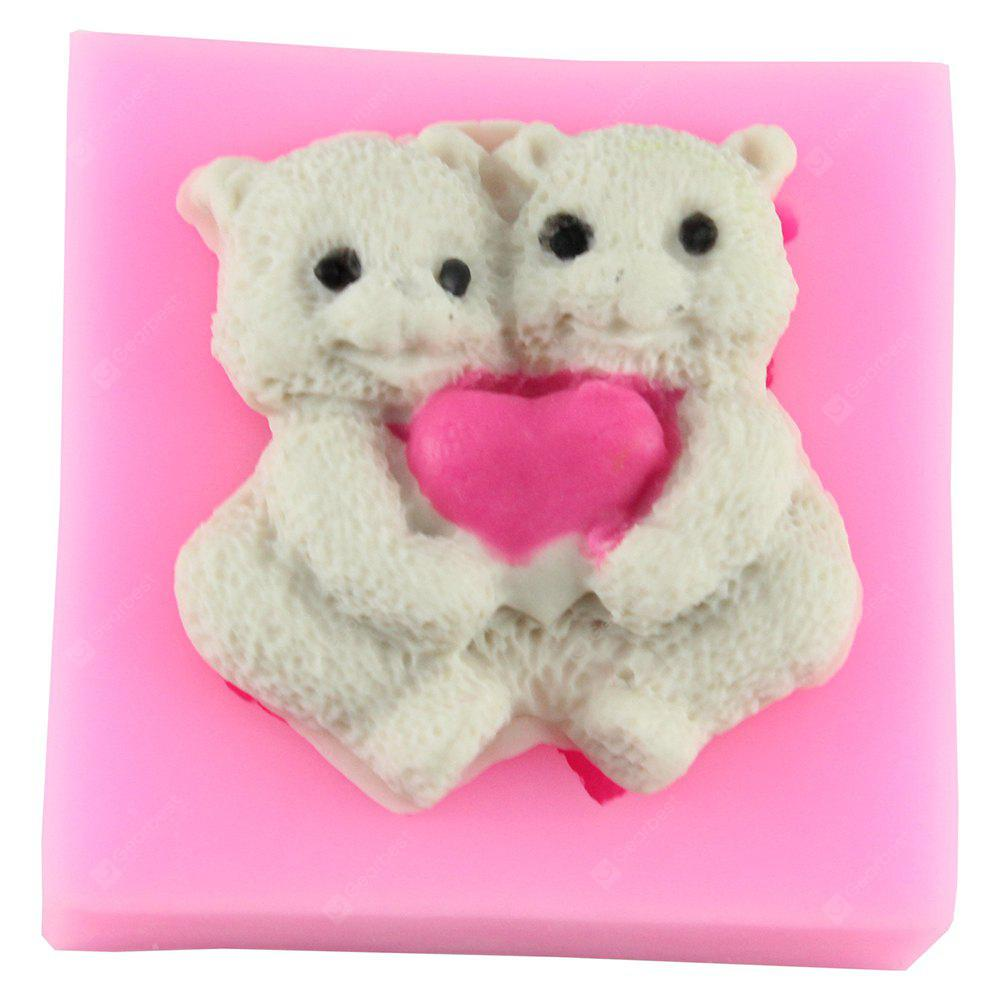 Sweet Love Bear Modeling Silicone Mold