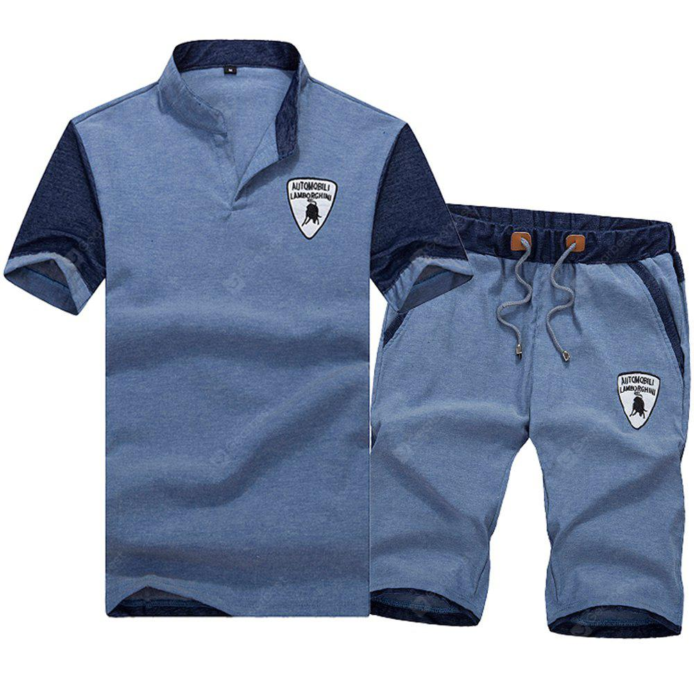 Summer Leisure Casual Sports Suit