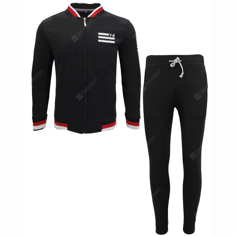 Clothing Autumn Jacket Casual Trousers Sports Suit