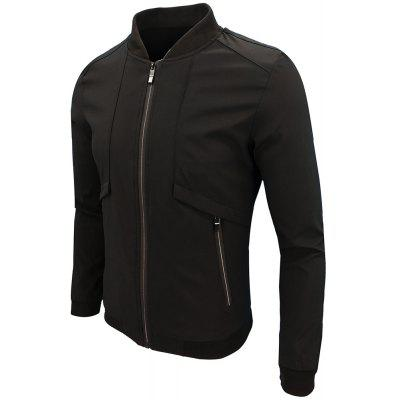 Spring And Autumn Youth MenS Sportswear JacketMens Jackets &amp; Coats<br>Spring And Autumn Youth MenS Sportswear Jacket<br><br>Clothes Type: Jackets<br>Collar: Collarless<br>Material: Cotton, Spandex, Linen<br>Package Contents: 1 x jacket<br>Season: Spring, Fall<br>Shirt Length: Regular<br>Sleeve Length: Long Sleeves<br>Style: Casual<br>Weight: 0.3800kg