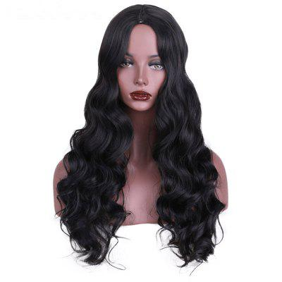 CHICSHE Synthetic Wig for Black Women Long Cosplay Wigs Wavy Hair with High Temperature