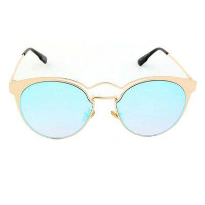 Men Sunglasses Outdoor Chic Round Circle Trendy Glasses Accessory