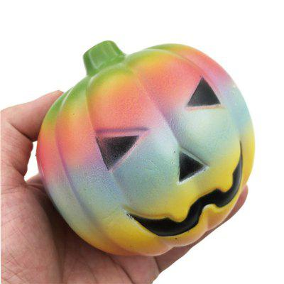 Jumbo Squishy 12CM Colorful Pumpkin Soft Slow Rising Toy