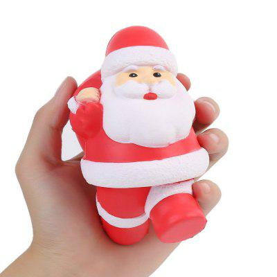 Jumbo Squishy Stress Relief Soft Toys Santa Claus Style