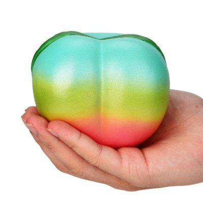 Squishys Slow Rising Stress Relief Soft Toys Replica Rainbow Peach