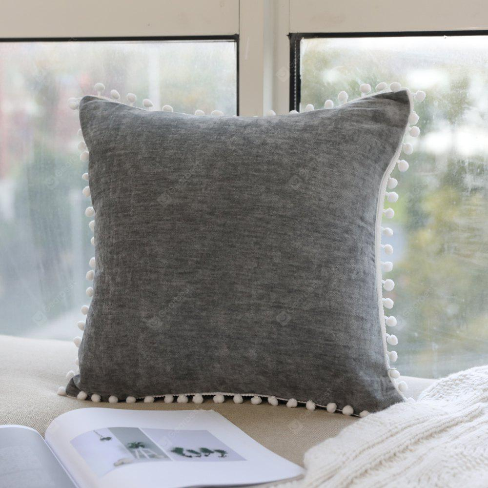 Pillowcase European-Style Solid Color Pillow Cover