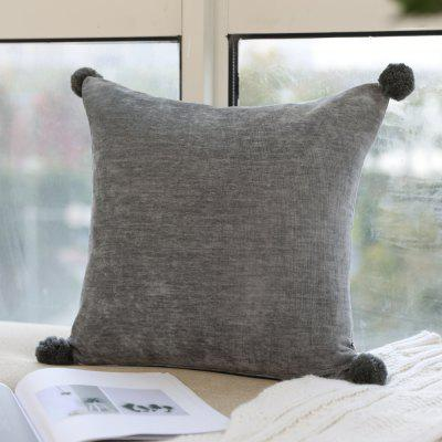 Fashionable Pillowcase European-Style Solid Color Pillow Cover