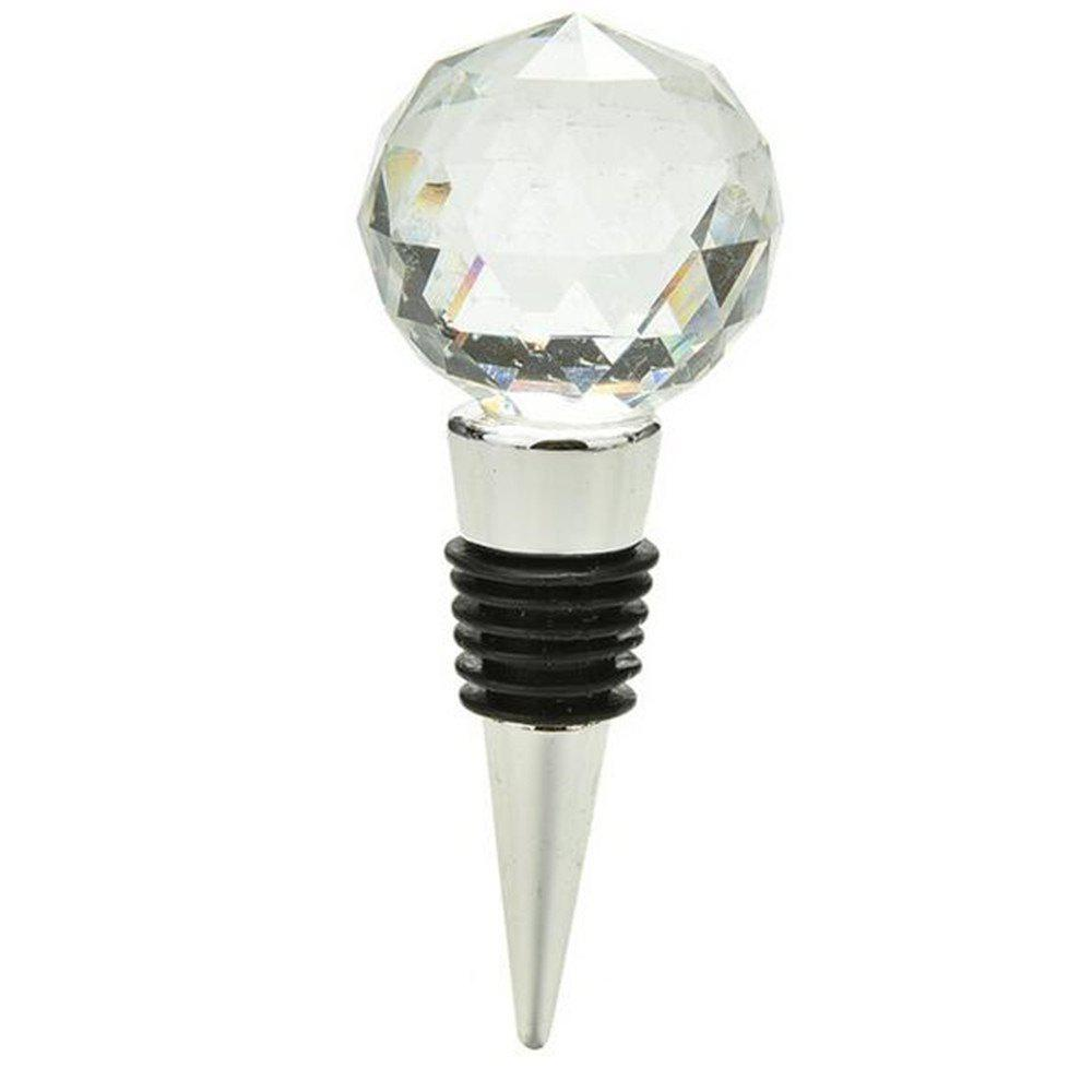 Big Diamond Crystal Wine Stopper Bottle Opener Bar Tools and ...