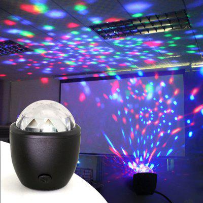 Usb Crystal Ball Lamp Disco Portable DJ  Party  Mood Stage Ambient  Light
