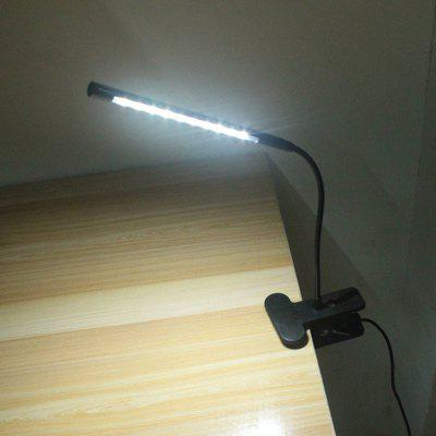 Energy-Saving Simple USB Clip LED Holder Lamp Metal Touch Dimmer