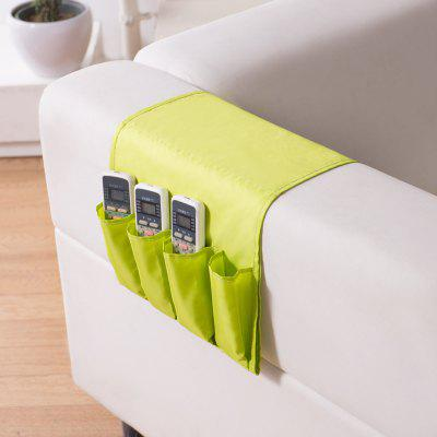 Sofa Arm Rest TV Remote Control Holder Storage Bag For Cell Phones Magazine  Storage Pouch