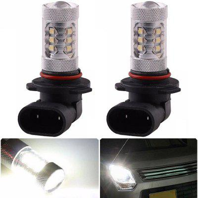 2PCS 9005 16SMD 2828 80W 6500K -7000K LED Bulb for Car LED Fog Light Head Lamp DC12-24V