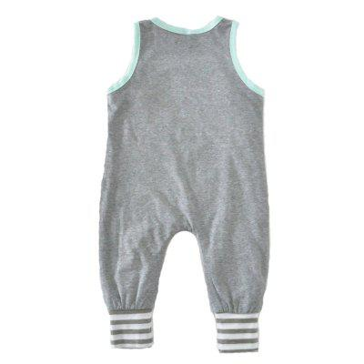 SOSOCOER Newborn Infant Bodysuits Letter Printing Summer Sleeveless Romperbaby rompers<br>SOSOCOER Newborn Infant Bodysuits Letter Printing Summer Sleeveless Romper<br><br>Brand: SOSOCOER<br>Closure Type: Pullover<br>Collar: Round Neck<br>Decoration: Pattern<br>Gender: Unisex<br>Material: Cotton<br>Package Contents: 1 x Romper<br>Pattern Style: Letter<br>Season: Summer<br>Sleeve Length: Sleeveless<br>Sleeve Style: Tank<br>Style: Contracted<br>Thickness: General<br>Weight: 0.1300kg