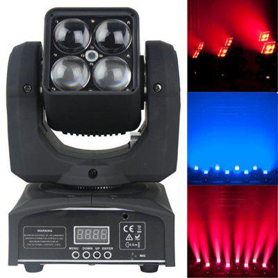MITU SHOW 4 LEDs Wash Moving Head Party Disco DJ Light