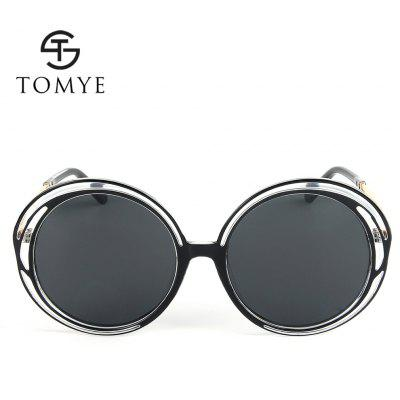 TOMYE 55938 Fashion Round Polarized Sunglasses for WomenMens Sunglasses<br>TOMYE 55938 Fashion Round Polarized Sunglasses for Women<br><br>Brand: TOMYE<br>Frame Length: 144mm<br>Frame material: Acetate<br>Gender: For Women<br>Group: Adult<br>Lens height: 62mm<br>Lens material: Resin<br>Lens width: 56mm<br>Lenses Optical Attribute: Polarized<br>Nose: 21mm<br>Package Contents: 1 x Pair of Sunglasses<br>Package size (L x W x H): 17.00 x 9.00 x 7.00 cm / 6.69 x 3.54 x 2.76 inches<br>Package weight: 0.0500 kg<br>Product weight: 0.0270 kg<br>Style: Butterfly, Round<br>Temple Length: 143mm