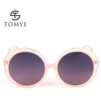TOMYE 55938 Fashion Round Polarized Sunglasses for WomenWomens Sunglasses<br>TOMYE 55938 Fashion Round Polarized Sunglasses for Women<br><br>Brand: TOMYE<br>Frame Length: 144mm<br>Frame material: Acetate<br>Gender: For Women<br>Group: Adult<br>Lens height: 62mm<br>Lens material: Resin<br>Lens width: 56mm<br>Lenses Optical Attribute: Polarized<br>Nose: 21mm<br>Package Contents: 1 x Pair of Sunglasses<br>Package size (L x W x H): 17.00 x 9.00 x 7.00 cm / 6.69 x 3.54 x 2.76 inches<br>Package weight: 0.0500 kg<br>Product weight: 0.0270 kg<br>Style: Butterfly, Round<br>Temple Length: 143mm