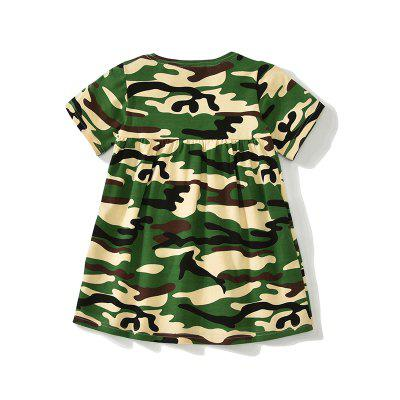New 2018 Summer Girl Dress Cute Baby Short Sleeve Camouflage Pattern Cotton Kids DressGirls dresses<br>New 2018 Summer Girl Dress Cute Baby Short Sleeve Camouflage Pattern Cotton Kids Dress<br><br>Dresses Length: Knee-Length<br>Elasticity: Elastic<br>Fabric Type: Worsted<br>Material: Cotton<br>Neckline: Round Collar<br>Package Contents: 1 x Girl Dress<br>Pattern Type: Others<br>Season: Summer<br>Silhouette: A-Line<br>Sleeve Length: Short Sleeves<br>Style: Casual<br>Waist: Natural<br>Weight: 0.0900kg<br>With Belt: No