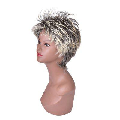HairYouGo S44 Short Shaggy Layered Fluffy 13cm Cosplay High Temperature Fiber WigCosplay Wigs<br>HairYouGo S44 Short Shaggy Layered Fluffy 13cm Cosplay High Temperature Fiber Wig<br><br>Package Contents: 1 x Wig<br>Package size (L x W x H): 28.00 x 20.00 x 5.00 cm / 11.02 x 7.87 x 1.97 inches<br>Package weight: 0.1450 kg<br>Type: Full Wigs