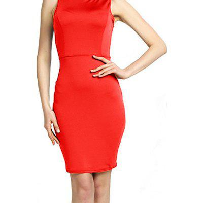 Elegant Womens Office Lady Formal Business Work Party Sheath Tunic Pencil DressBodycon Dresses<br>Elegant Womens Office Lady Formal Business Work Party Sheath Tunic Pencil Dress<br><br>Dresses Length: Knee-Length<br>Elasticity: Micro-elastic<br>Embellishment: Criss-Cross<br>Fabric Type: Broadcloth<br>Material: Cotton, Polyester, Nylon<br>Neckline: Round Collar<br>Package Contents: 1 x Dress<br>Pattern Type: Solid<br>Season: Spring, Winter, Fall, Summer<br>Silhouette: Sheath<br>Sleeve Length: Sleeveless<br>Style: Sexy &amp; Club<br>Waist: Natural<br>Weight: 0.3000kg<br>With Belt: No