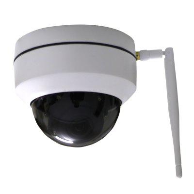IPC-Q203 Mini WiFi Outdoor IP PTZ Dome Camera ONVIF 1.3MP 960P IR Wireless Network Surveillance CCTV SystemIP Cameras<br>IPC-Q203 Mini WiFi Outdoor IP PTZ Dome Camera ONVIF 1.3MP 960P IR Wireless Network Surveillance CCTV System<br><br>Compatible Operation Systems: Windows 7,Windows 8,Microsoft Windows 98/ ME /2000/ XP,Android,IOS<br>Features: HD<br>FOV: 90 degrees<br>Interface: TF Card Slot<br>IP camera performance: Night Vision, Motion Detection, Remote Control<br>Language: English,Simplified / TraditionalChinese<br>Local-storage: Micro SD card up to 64GB<br>Maximum Monitoring Range: 10<br>Mobile Access: iPad,Android,iPhone OS<br>Model: IPC-Q203<br>Motion Detection Distance: 5<br>Operate Temperature (?): -10 - 50<br>Package Contents: 1 x Camera, 1 x English User Manual, 1 x Power adapter<br>Package size (L x W x H): 24.00 x 13.50 x 13.50 cm / 9.45 x 5.31 x 5.31 inches<br>Package weight: 0.8500 kg<br>Product size (L x W x H): 10.80 x 10.80 x 10.00 cm / 4.25 x 4.25 x 3.94 inches<br>Product weight: 0.6000 kg<br>Protocol: IPv6,HTTP,SMTP,FTP,DHCP,DNS,DDNS,NTP,UPNP,RTSP,TCP,IP,RTP,RTCP,HTTPS,SNMP,QoS,Bonjour,MUTP<br>Resolution: 1280 x 960<br>Shape: Gun Camera<br>Technical Feature: Pan Tilt Zoom, Waterproof, WiFi<br>Video Compression Format: H.264<br>Video Resolution: 960P<br>Waterproof: IP66<br>Web Browser: IE<br>White Balance: Auto<br>WiFi Distance: 10<br>Wireless: WiFi 802.11 b/g/n<br>Working Voltage: 12V