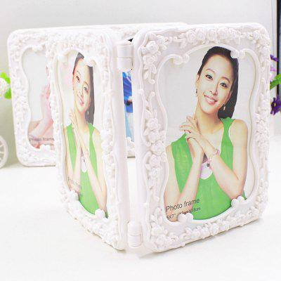 Stereoscopic Folding Photo Frame 7 Inch Photo Frame Wedding Photo Frame