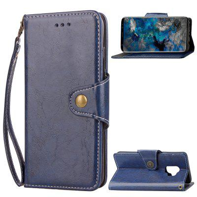 Flip Leather Cover Mixed Color for Samsung Galaxy S9 Plus Pu Case with Stand Fashion Book Cover