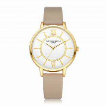 Lvpai P092-G Women Leather Strap Wrist Watch coupons