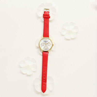 Lvpai P093-G Women Casual Leather Strap Quartz WatchesWomens Watches<br>Lvpai P093-G Women Casual Leather Strap Quartz Watches<br><br>Band material: PU<br>Band size: 24 x 1.5 CM<br>Case material: Metal<br>Clasp type: Pin buckle<br>Dial size: 3.5 x 3.5 x 0.8 CM<br>Display type: Analog<br>Movement type: Quartz watch<br>Package Contents: 1 x Watch<br>Package size (L x W x H): 24.50 x 4.00 x 1.00 cm / 9.65 x 1.57 x 0.39 inches<br>Package weight: 0.0290 kg<br>Product size (L x W x H): 24.00 x 3.50 x 0.80 cm / 9.45 x 1.38 x 0.31 inches<br>Product weight: 0.0270 kg<br>Shape of the dial: Round<br>Watch mirror: Mineral glass<br>Watch style: Classic, Childlike, Fashion, Casual<br>Watches categories: Women,Female table<br>Water resistance: No
