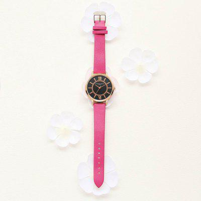 Lvpai P094-R Women Leather Strap Black Dial Quartz WatchesWomens Watches<br>Lvpai P094-R Women Leather Strap Black Dial Quartz Watches<br><br>Band material: PU<br>Band size: 24 x 1.5 CM<br>Case material: Metal<br>Clasp type: Pin buckle<br>Dial size: 3.5 x 3.5 x 0.8 CM<br>Display type: Analog<br>Movement type: Quartz watch<br>Package Contents: 1 x Watch<br>Package size (L x W x H): 24.50 x 4.00 x 1.00 cm / 9.65 x 1.57 x 0.39 inches<br>Package weight: 0.0290 kg<br>Product size (L x W x H): 24.00 x 3.50 x 0.80 cm / 9.45 x 1.38 x 0.31 inches<br>Product weight: 0.0270 kg<br>Shape of the dial: Round<br>Watch mirror: Mineral glass<br>Watch style: Classic, Childlike, Fashion, Casual<br>Watches categories: Women,Female table<br>Water resistance: No