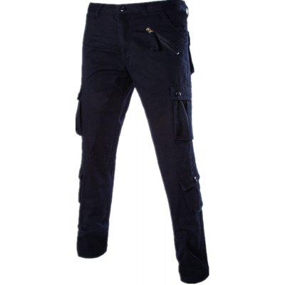 Loose Tooling All-Match Pocket Leisure PantsMens Pants<br>Loose Tooling All-Match Pocket Leisure Pants<br><br>Closure Type: Button Fly<br>Elasticity: Super-elastic<br>Fabric Type: Broadcloth<br>Fit Type: Loose<br>Length: Normal<br>Material: Cotton, Polyester<br>Package Contents: 1 xPants<br>Package size (L x W x H): 1.00 x 1.00 x 1.00 cm / 0.39 x 0.39 x 0.39 inches<br>Package weight: 0.5000 kg<br>Pant Style: Cargo Pants<br>Pattern Type: Others<br>Style: Fashion<br>Waist Type: High