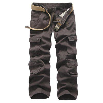 Loose Tooling All-Match Pocket Leisure Pants