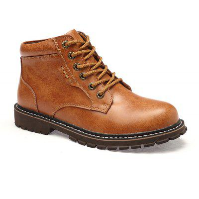 Autumn and Winter Cowhide Rubber Shoes