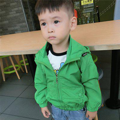 Childrens New Dress with A Solid-Colored Long Sleeve CoatBoys Outerwear<br>Childrens New Dress with A Solid-Colored Long Sleeve Coat<br><br>Closure Type: Zipper<br>Clothes Type: Jackets<br>Collar: Hooded<br>Material: Cotton, Cotton Blends<br>Package Contents: 1 x Coat<br>Pattern Type: Solid<br>Season: Spring<br>Shirt Length: Regular<br>Sleeve Length: Long Sleeves<br>Sleeve Style: Regular<br>Style: Casual<br>Suitable Age: 4-6 years old,Less than 7 years old,2-7 years old<br>Weight: 0.1000kg