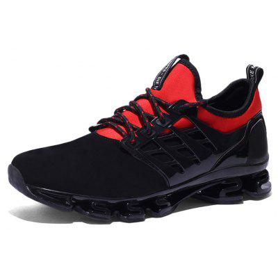 New Blade Warrior Tank SneakersAthletic Shoes<br>New Blade Warrior Tank Sneakers<br><br>Available Size: 39-44<br>Closure Type: Lace-Up<br>Feature: Massage<br>Gender: For Men<br>Outsole Material: Rubber<br>Package Contents: 1xshoes(pair)<br>Package Size(L x W x H): 33.00 x 20.00 x 12.00 cm / 12.99 x 7.87 x 4.72 inches<br>Package weight: 0.8000 kg<br>Pattern Type: Geometric<br>Season: Spring/Fall<br>Upper Material: PU