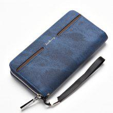 Baellerry Fashion Men's Hand Bag Long Casual Bussiness Wallet Credit Card Holder