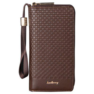 Baellerry Multi-function Men's Large Capacity Hand Bag Long Casual Wallet Credit Card Holder