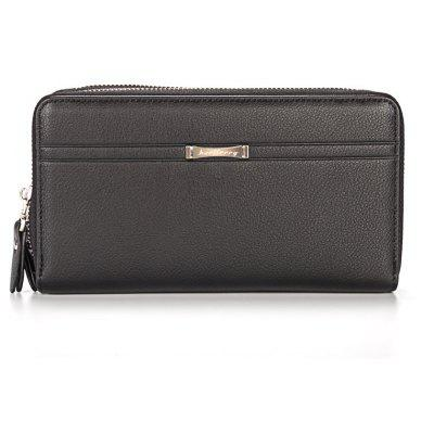 Baellerry Multi-function Men's Business Long Wallet Zipper Large Capacity Hand Bag