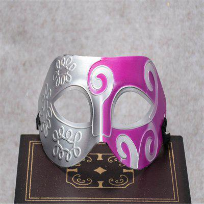 Buy Masquerade Party Mask Jazz Mask Prince Carved Mask Half Face Dance Masks SANGRIA for $1.28 in GearBest store