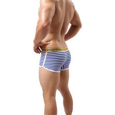 Stripes Mens Underwear Low Waist Fashion Sexy Breathable PantsMens Underwear &amp; Pajamas<br>Stripes Mens Underwear Low Waist Fashion Sexy Breathable Pants<br><br>Material: Polyamide<br>Package Contents: 1  x  Shorts<br>Package size (L x W x H): 1.00 x 1.00 x 1.00 cm / 0.39 x 0.39 x 0.39 inches<br>Package weight: 0.0400 kg<br>Pattern Type: Striped<br>Waist Type: Low
