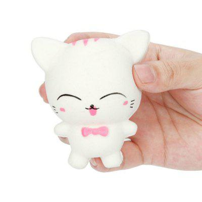 Jumbo Squishy Stress Relief Toy Feito por Enviromental PU Replica Cartoon Cat