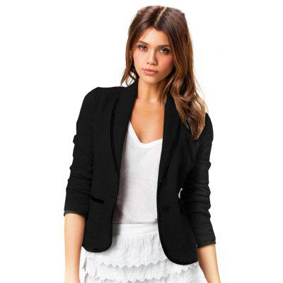 Slim Wild Long Sleeve Casual Small Suit Jacket