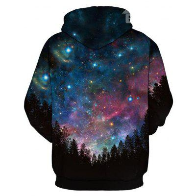 Forest Dark Night Long Sleeve Galaxy Pattern Front Pocket 3D Painted HoodieMens Hoodies &amp; Sweatshirts<br>Forest Dark Night Long Sleeve Galaxy Pattern Front Pocket 3D Painted Hoodie<br><br>Fabric Type: Broadcloth<br>Material: Polyester<br>Package Contents: 1 x Hoodie<br>Shirt Length: Regular<br>Sleeve Length: Full<br>Style: Casual<br>Weight: 0.4000kg