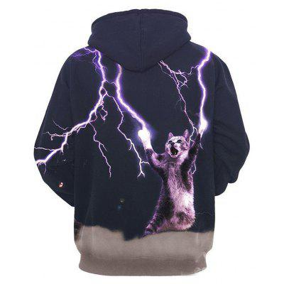Long Sleeve Thunder Cat Make Lightning Cool Crazy Pattern 3D Painted HoodieMens Hoodies &amp; Sweatshirts<br>Long Sleeve Thunder Cat Make Lightning Cool Crazy Pattern 3D Painted Hoodie<br><br>Fabric Type: Broadcloth<br>Material: Polyester<br>Package Contents: 1 x Hoodie<br>Shirt Length: Regular<br>Sleeve Length: Full<br>Style: Casual<br>Weight: 0.4800kg