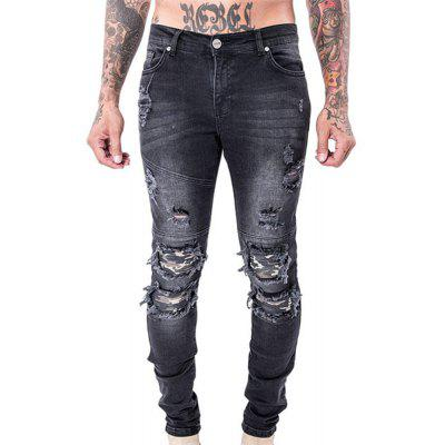 Spell Hole Trend Jeans