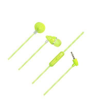 Earphone For iPhone Samsung Xiaomi Huawei 3.5MM Stereo In-ear Wired Headset With Mic Titanium Film Driver Earbuds pickogen he 077 uv fisheye macro wide angle camera lens with led for iphone samsung pink
