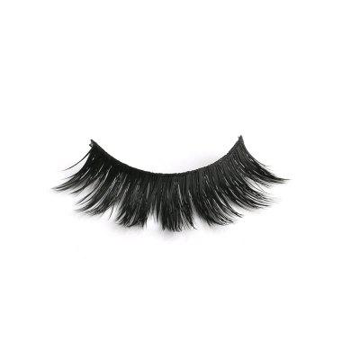 5 Paires Doux Long Maquillage Croix Épais Faux Cils Naturel Main Lashes Cils Extension Maquillage Beauté
