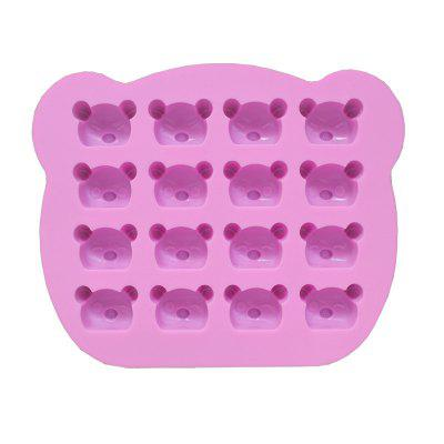 2 Pcs Koala Bear Silicone Mold Baking Utensils Bakeware Jelly Candy Clay Making Decoration