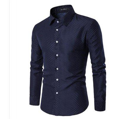 Spring and Summer Cotton Business Casual Fashion Shirt